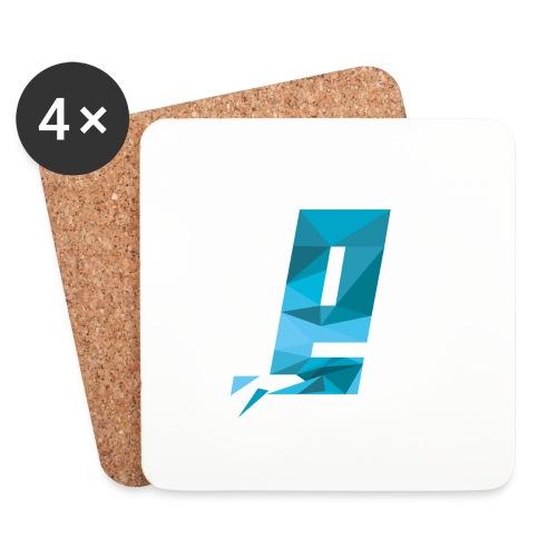 Eventuell Logo small - Shirt White - Untersetzer (4er-Set)