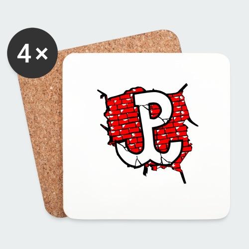Męska Koszulka Patriotyczna Premium - Podstawki (4 sztuki w zestawie)