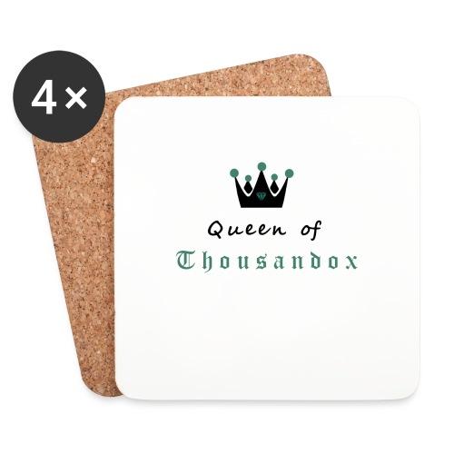 Queenofthousandox - Untersetzer (4er-Set)