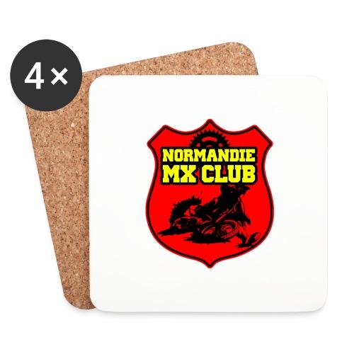 Casquette Normandie MX Club - Dessous de verre (lot de 4)