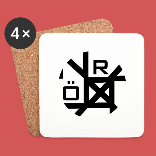 Nörthstat Group™ TecH | iCon - WHT.Knapsack - Coasters (set of 4)