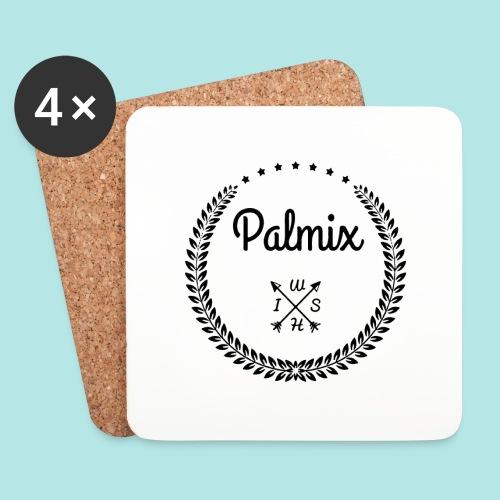 Palmix_wish camiseta mangas color - Coasters (set of 4)