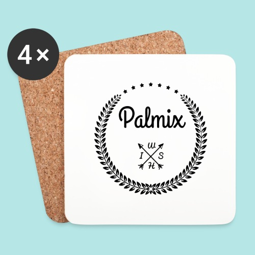 Palmix_wish V-neck - Coasters (set of 4)