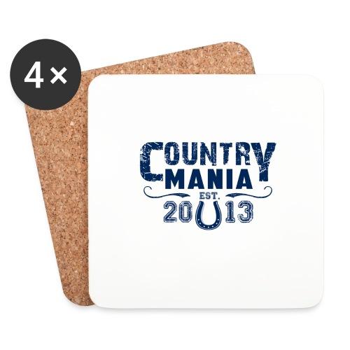 Country Mania - Established 2013 - Sottobicchieri (set da 4 pezzi)