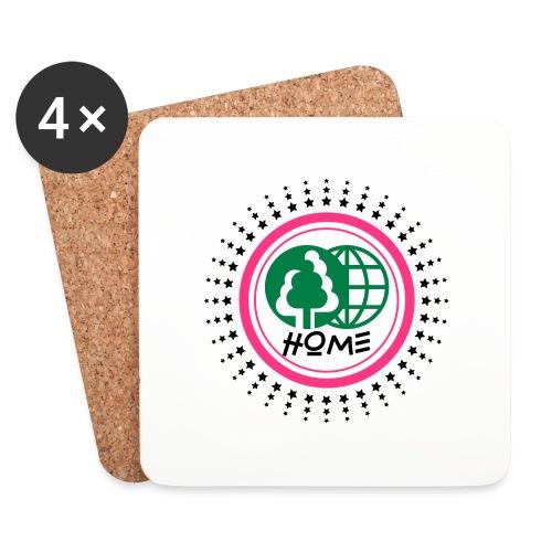 Planète home sweet home - Coasters (set of 4)