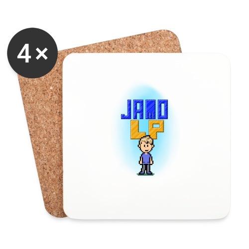 Pixel Jamo - Glasbrikker (sæt med 4 stk.)