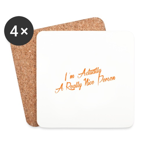 nice-person - Coasters (set of 4)
