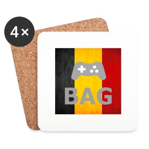BelgiumAlpha Games - Coasters (set of 4)