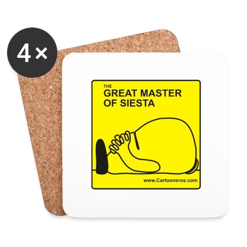 Great Master of Siesta - Coasters (set of 4)