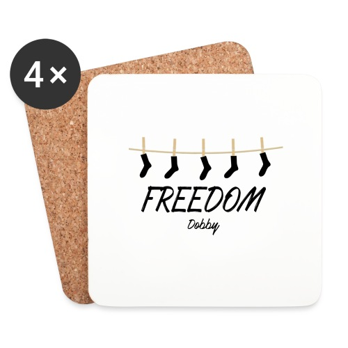 Freedom Dobby - Dessous de verre (lot de 4)
