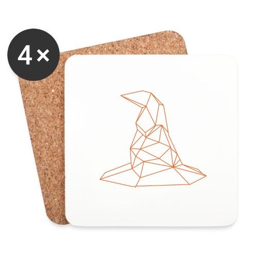 KAPELUSZ - Sottobicchieri (set da 4 pezzi)
