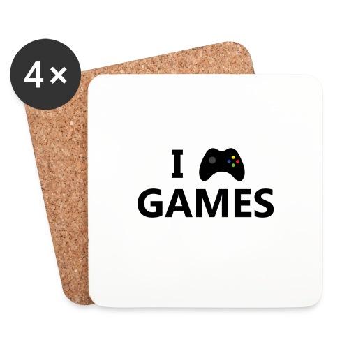 I Love Games 3 - Posavasos (juego de 4)