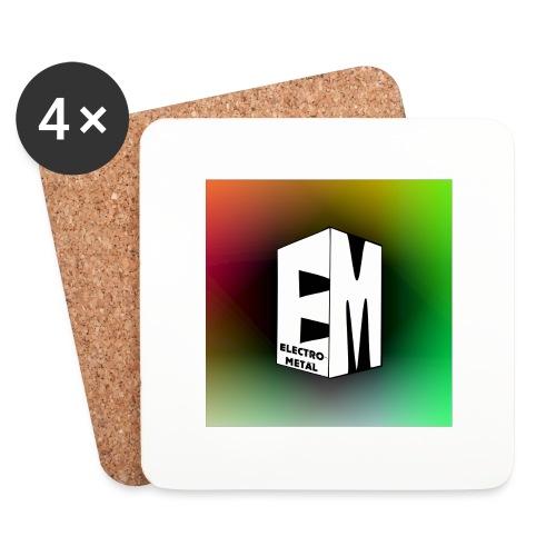 ElectroMetal_Logo - Coasters (set of 4)