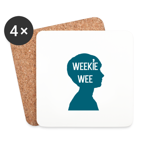TShirt_Weekiewee - Onderzetters (4 stuks)