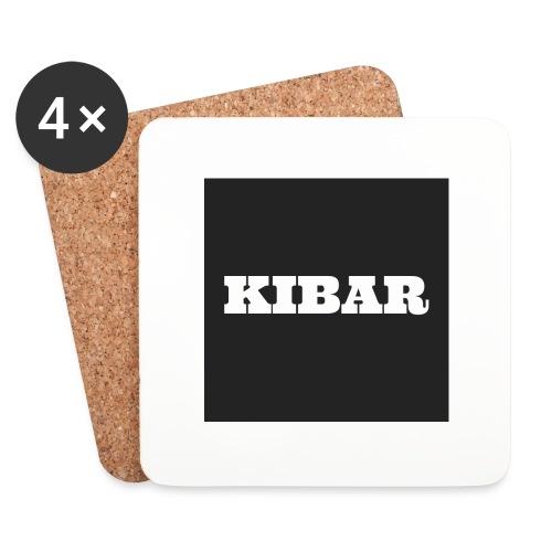 KIBAR - Glasbrikker (sæt med 4 stk.)
