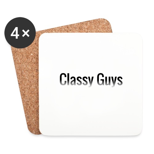 Classy Guys Simple Name - Coasters (set of 4)