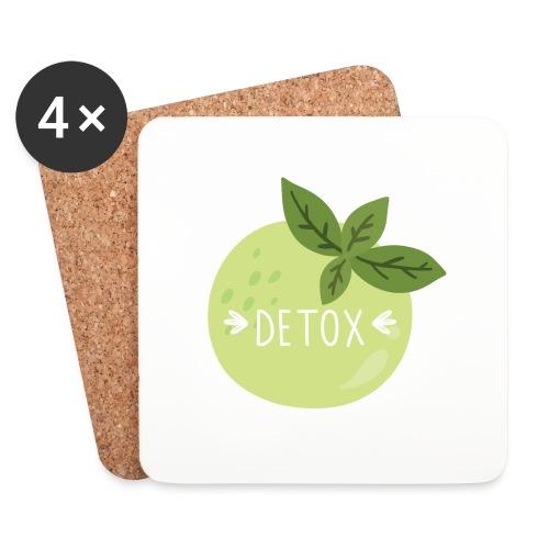 Detox green juice - Sottobicchieri (set da 4 pezzi)