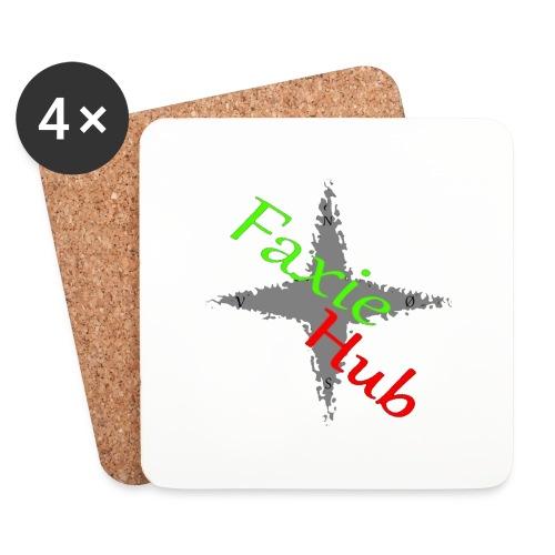 FaxieHub - Glasbrikker (sæt med 4 stk.)