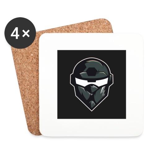 LogoMain2 - Glasbrikker (sæt med 4 stk.)