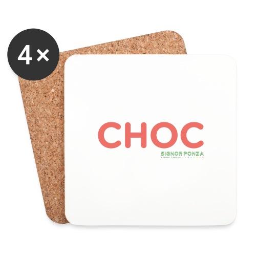 CHOC 2 - Sottobicchieri (set da 4 pezzi)