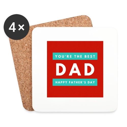 DAD day - Dessous de verre (lot de 4)