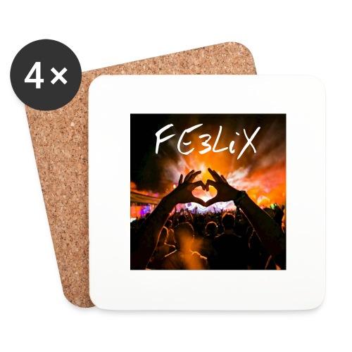 FE3LiX Logo. . g - Untersetzer (4er-Set)