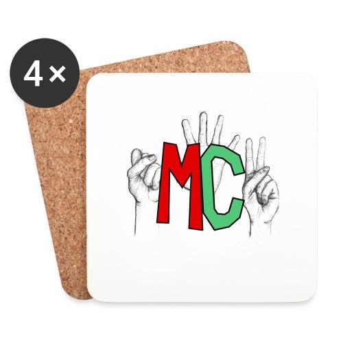 Logo vuoto iMorracinese - Sottobicchieri (set da 4 pezzi)