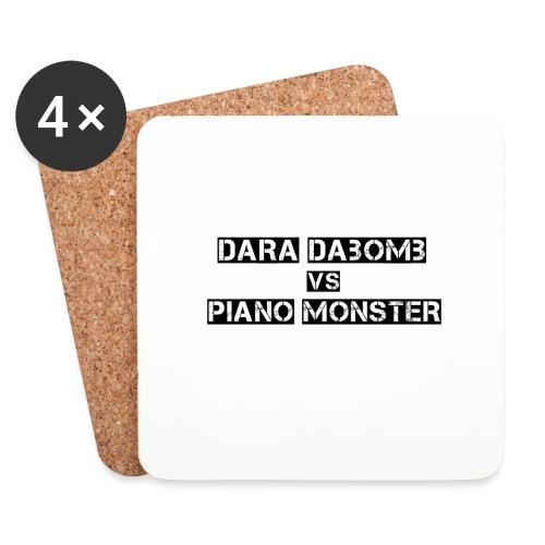 Dara DaBomb VS Piano Monster Range - Coasters (set of 4)