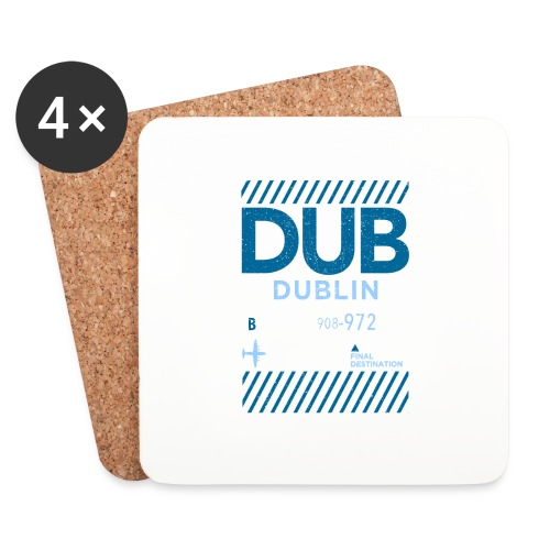 Dublin Ireland Travel - Coasters (set of 4)