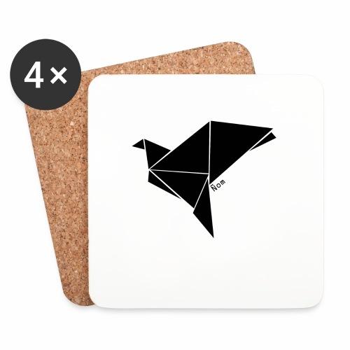 Origami - Dessous de verre (lot de 4)