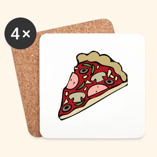 Pizza - Dessous de verre (lot de 4)