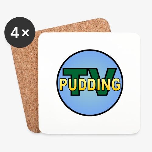 Pudding-TV Logo - Brikker (sett med 4)