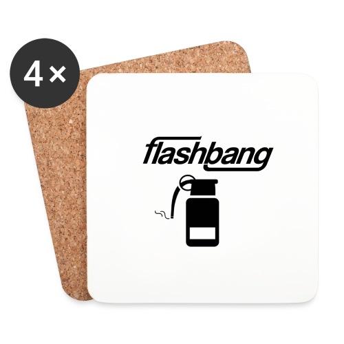 FlashBang Logga - Utan Donation - Underlägg (4-pack)