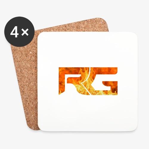Revelation gaming burns - Coasters (set of 4)