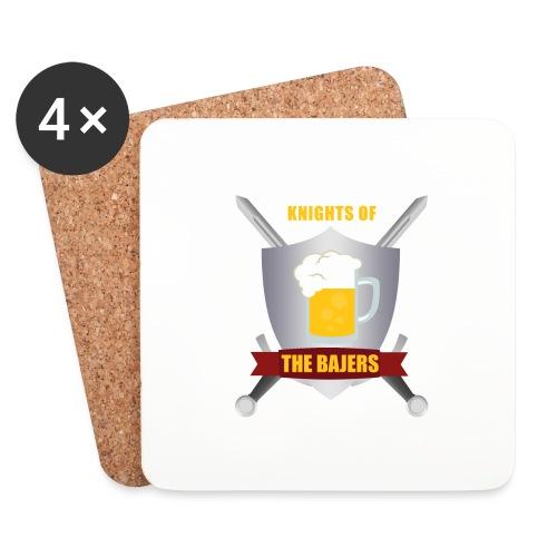 Knights of The Bajers - Glasbrikker (sæt med 4 stk.)