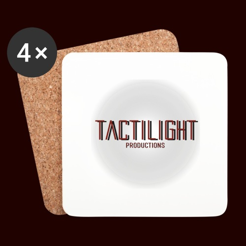 Tactilight Logo - Coasters (set of 4)