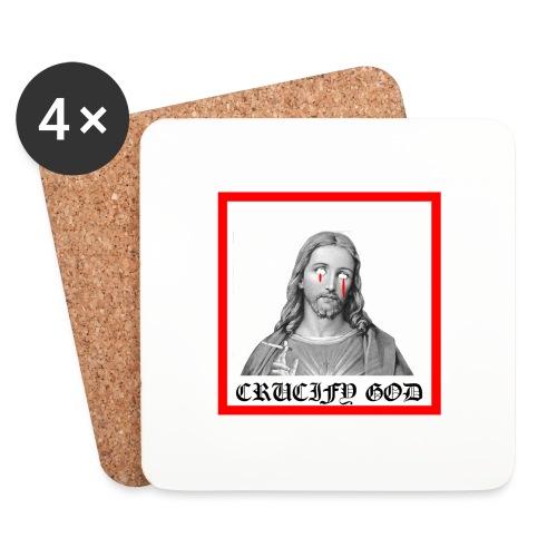 Crucify God | Sad Jesus - Lasinalustat (4 kpl:n setti)