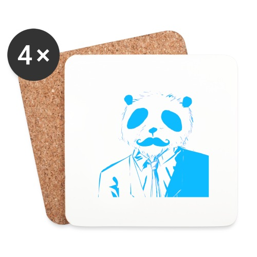 BluePanda Logo - Coasters (set of 4)