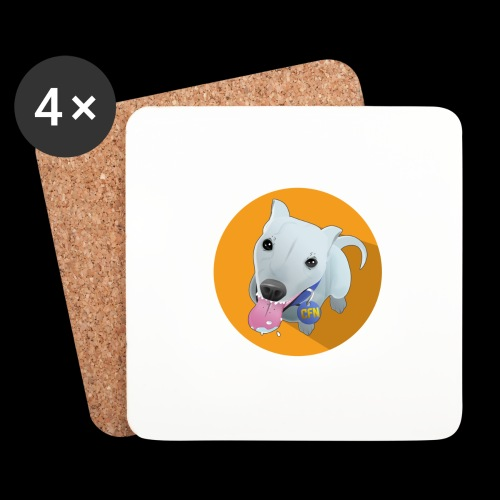 Computer figure 1024 - Coasters (set of 4)