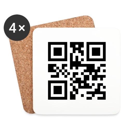 Sono Single QR Code - Sottobicchieri (set da 4 pezzi)