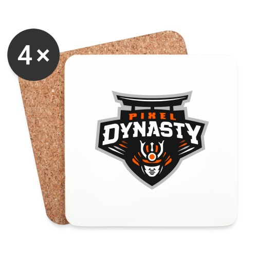logo transparent - Coasters (set of 4)