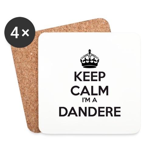 Dandere keep calm - Coasters (set of 4)