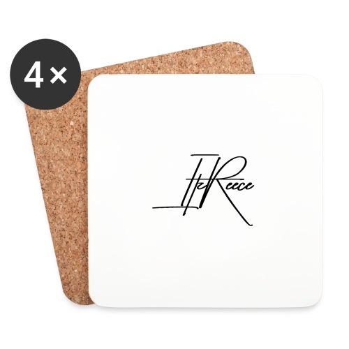 Small logo white bg - Coasters (set of 4)