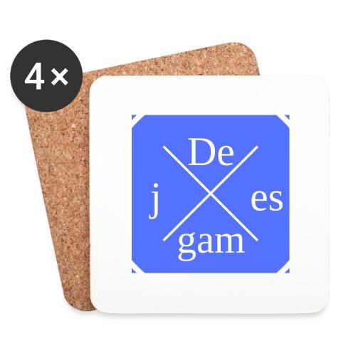 de j games - Onderzetters (4 stuks)