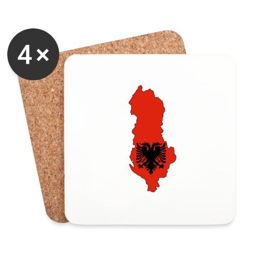 Albania - Dessous de verre (lot de 4)