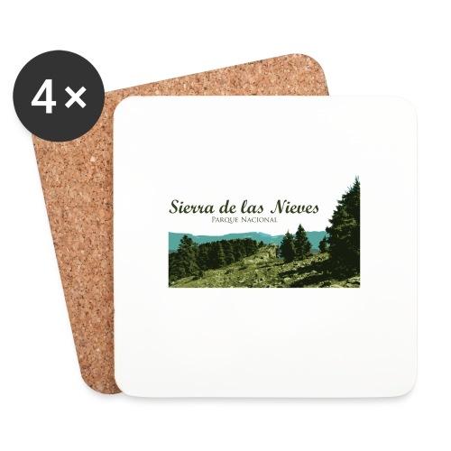 Sierra de las Nieves Parque Nacional - Posavasos (juego de 4)