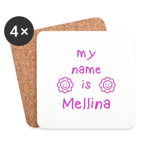 MELLINA MY NAME IS - Dessous de verre (lot de 4)