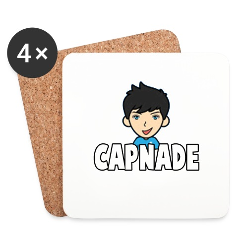 Basic Capnade's Products - Coasters (set of 4)