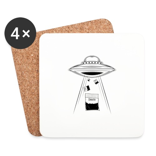 UFO thuts - Dessous de verre (lot de 4)