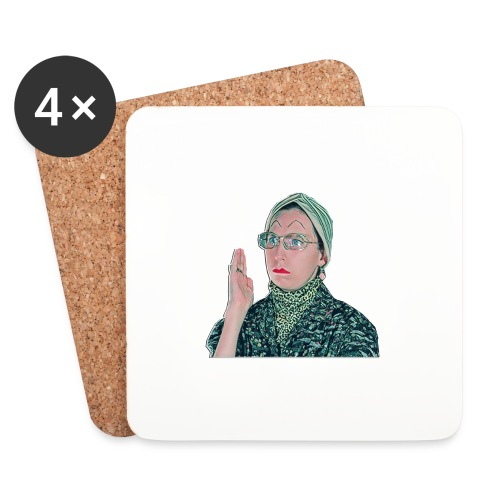 madam1 - Coasters (set of 4)